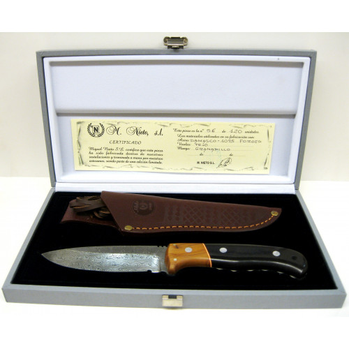 M. Nieto - Cuchillo artesanal de damasco